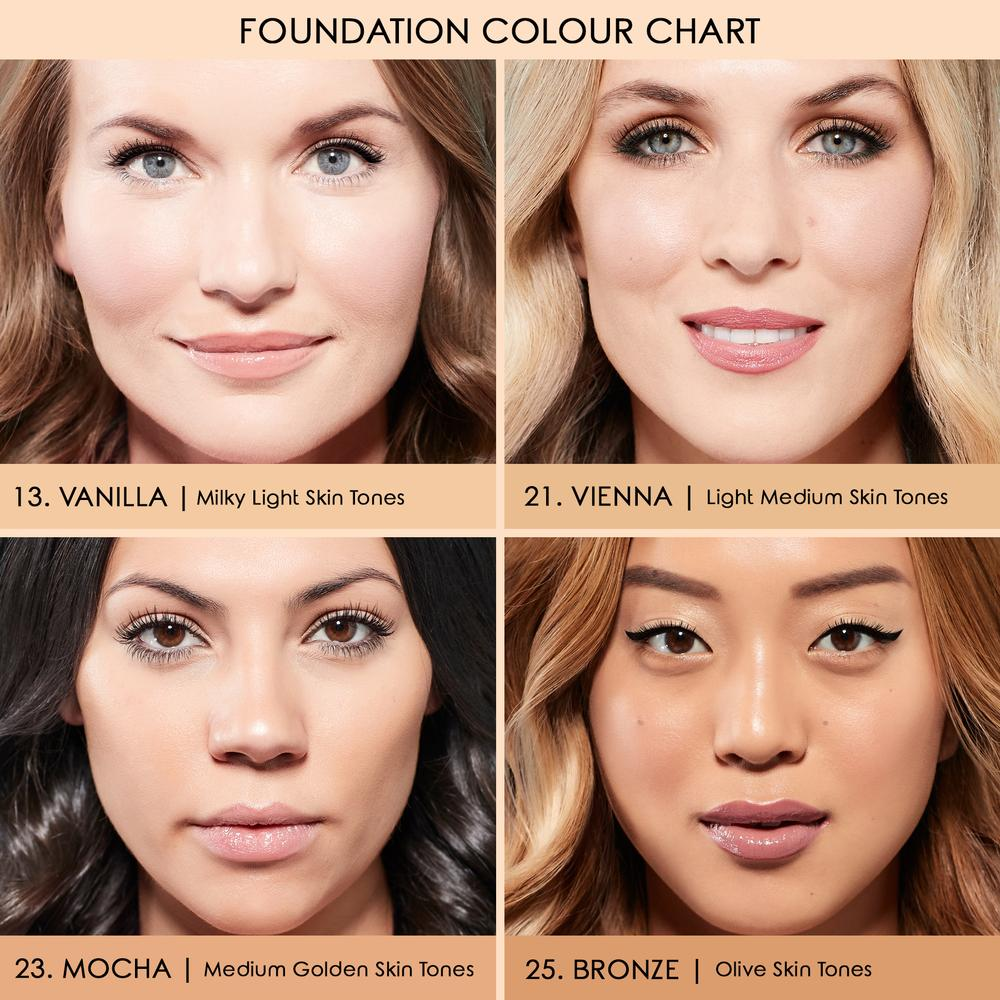 Our Foundation Shades Are